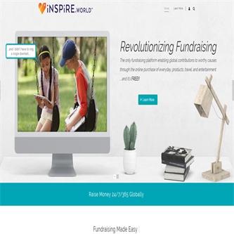 Website development for Inspire.World