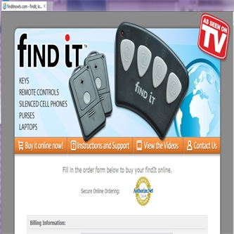 FindItTV Product Site