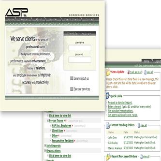 ASP Screening Background Checks