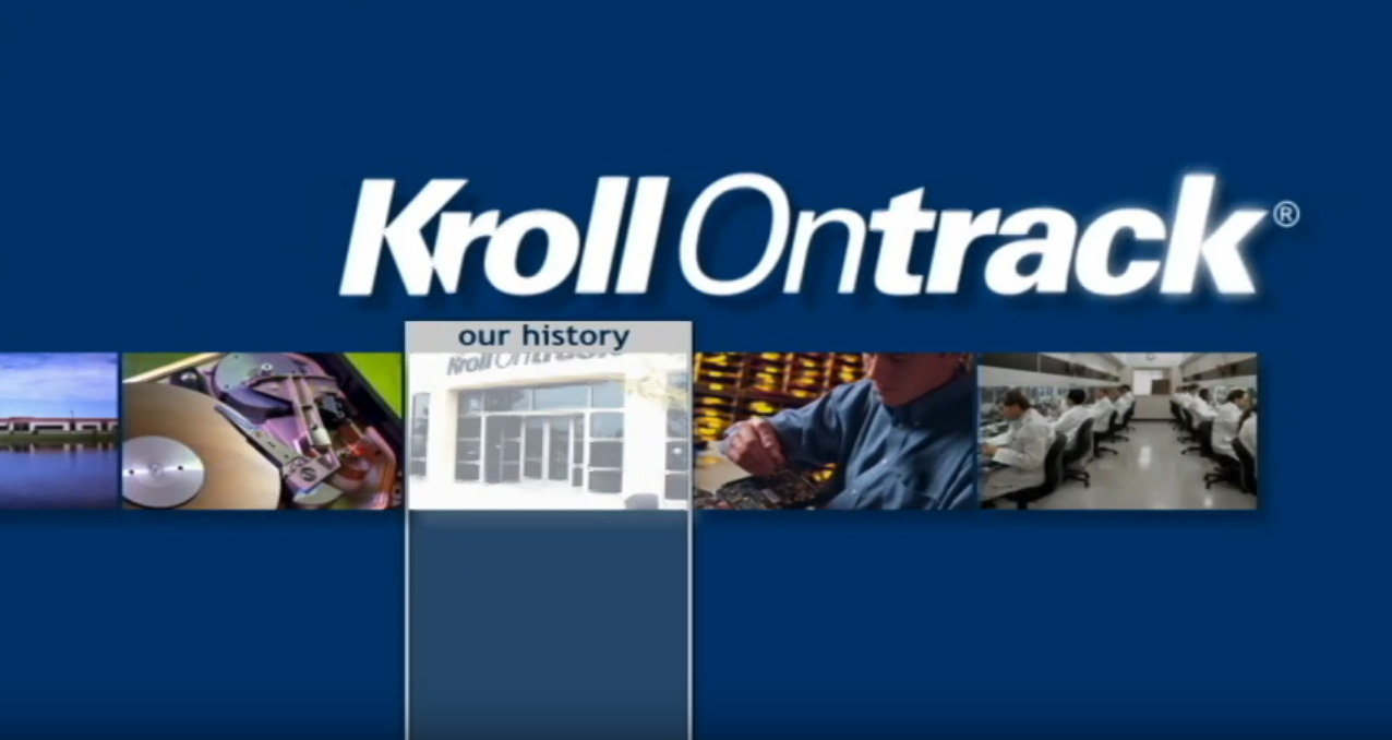Kroll OnTrack - Video Production