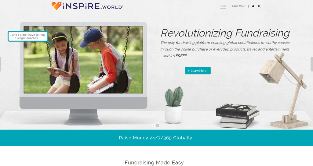 Website development for Inspire.World